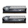 PATRIOT Viper Elite Grey 32GB DDR4 2666MHz / DIMM / CL16 / Heat shield / KIT 2x 16GB