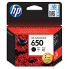 HP 650 černá inkoustová kazeta, CZ101AE