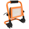 LED reflektor podst.,100W,4000K,8000lm,IP65,oranž