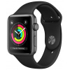 AppleWatch Series3 GPS, 42mm Space Grey Aluminium Case with Black Sport Band, mtf32cn/a