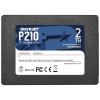 "PATRIOT P210 2TB SSD / 2,5"" / Interní / SATA 6GB/s / 7mm, P210S2TB25"