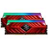 ADATA XPG SPECTRIX D41 32GB DDR4 2666MHz / DIMM / CL16 / červená / KIT 2x 16GB, AX4U2666716G16-DR41