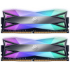 ADATA XPG SPECTRIX D60G 16GB DDR4 4133MHz / DIMM / CL19 / RGB / wolframová / KIT 2x 8GB, AX4U413338G19-DT60