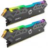 HP Gaming V8 16GB DDR4 3200 MHz / DIMM / CL16 / 1,35V / Heat Shield / RGB / Černá / KIT 2x 8GB, 8MG02AA#ABB