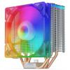 SilentiumPC chladič CPU Fera 3 EVO ARGB / ultratichý/ 120mm fan/ 4 heatpipes/ RGB/ PWM/ pro Intel i AMD, SPC281