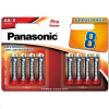 PANASONIC Alkalické baterie Pro Power LR6PPG/8BW AA 1,5V (Blistr 8ks), 00235849