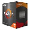 CPU AMD RYZEN 7 5800X, 8-core, 3.8 GHz (4.7 GHz Turbo), 36MB cache (4+32), 105W, socket AM4, bez chladiče, 100-100000063WOF