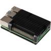 JOY-IT RASPBERRY PI case Armor pro Raspberry Pi 4 B, černá, RB-AlucaseP4+07