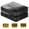 PREMIUMCORD HDMI splitter 1-2 porty, s napájením z USB, 4K, FULL HD, 3D, khsplit2c