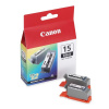 Canon inkoustová náplň BCI-15B/ 2ks v balení/ Černá, 8190A002