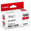 Canon inkoustová náplň PFI-1000 (červená, 80ml) pro Canon imagePROGRAF PRO-1000, 0554C001