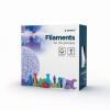 GEMBIRD 3D PETG plastové vlákno pro tiskárny, průměr 1,75 mm, černé, 3DP-PETG1.75-01-BK, 3DP-PETG1.75-01-BK