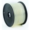 GEMBIRD 3D ABS plastové vlákno pro tiskárny, průměr 1,75mm, 1kg, transparent, 3DP-ABS1.75-01-TR