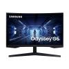 "SAMSUNG MT LED LCD 27"" Odyssey G5 - prohnutý, VA panel, QLED, 1ms, 2560x1440, 240Hz, DisplayPort, HDMI,, LC27G55TQWRXEN"