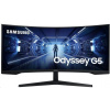 """Samsung MT LCD 34"""" Odyssey G5 WQHD Gaming Monitor with 1000R curved screen, LC34G55TWWRXEN"""