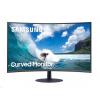 """Samsung MT LCD 27"""" C27T550FDR - prohnutý, VA panel, 1920x1080, HDMI, DP, 4ms,repro, LC27T550FDRXEN"""