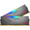 ADATA XPG SPECTRIX D50 32GB DDR4 3600MHz / DIMM / CL18 / RGB / wolframová / KIT 2x 16GB, AX4U360016G18A-DT50