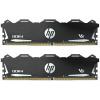 HP Gaming V6 32GB DDR4 3600 MHz / DIMM / CL18 / 1,35V / Heat Shield / Černá / KIT 2x 16GB, 2E2L4AA#ABB