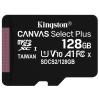 KINGSTON Canvas Select Plus 128GB microSD / UHS-I / CL10 / bez adaptéru, SDCS2/128GBSP