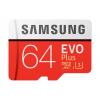 Samsung Micro SDXC karta 64GB EVO Plus (Class 10 UHS-I) + SD adaptér, MB-MC64HA/EU