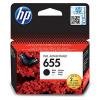 HP 655 černá inkoustová kazeta, CZ109AE, CZ109AE