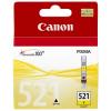 Canon inkoustová náplň CLI-521Y/ žlutá, 2936B001