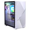 case Zalman miditower Z3 Iceberg White, E-ATX/mATX/Mini-ITX, průhledný bok, 2x ARGB vent., bez zdroj, Z3 ICEBERG WHITE