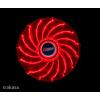 přídavný ventilátor Akasa Vegas LED 12 cm červená, AK-FN091-RD