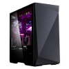 case Zalman miditower Z9 Iceberg Black, E-ATX/mATX/Mini-ITX, průhledný bok, 2x vent., bez zdroje, US, Z9 ICEBERG