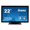 22''iiyama T2234AS-B1: IPS, Full HD, 350cd/m2, HDMI, USB, černý, T2234AS-B1