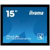 15'' iiyama TF1534MC-B7X: TN, XGA, capacitive, 10P, 370cd/m2, VGA, DP, HDMI, IP65, černý, TF1534MC-B7X