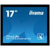 17'' iiyama TF1734MC-B7X: TN, 1280x1024, capacitive, 10P, 350cd/m2, VGA, DP, HDMI, IP65, černý, TF1734MC-B7X