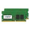 Crucial - DDR4 - sada - 8 GB: 2 x 4 GB - SO-DIMM 260-pin - 2400 MHz / PC4-19200 - CL17 - 1.2 V - bez vyrovnávací paměti - bez ECC, CT2K4G4SFS824A
