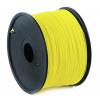 GEMBIRD 3D PLA plastové vlákno pro tiskárny, průměr 1,75 mm, 1kg, žluté, 3DP-PLA1.75-01-Y