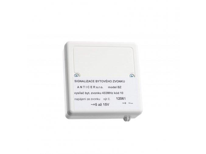 Vysílač signalizace zvonění domovního nebo bytového zvonku INTERHELP