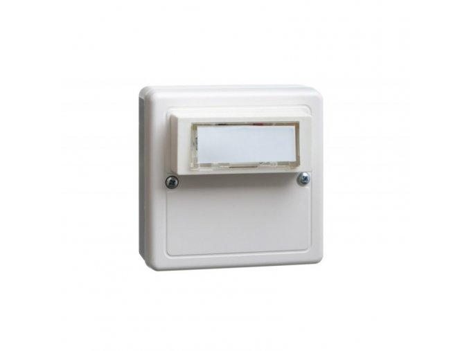 Tlačítkový vysílač signalizace zvonění domovního nebo bytového zvonku INTERHELP