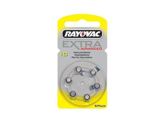 Baterie Rayovac vel. 10 (žluté)