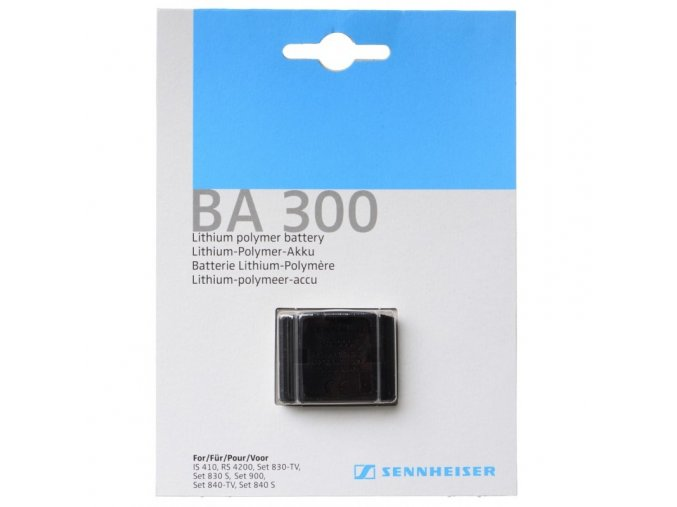 Akumulátor pro poslech TV BA300