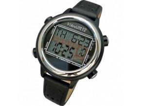 Náramkové vibrační hodinky VibraLITE 12 Black