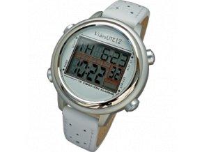 Náramkové vibrační hodinky VibraLITE 12 White