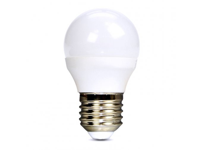 Solight LED žárovka, miniglobe, 8W, E27, 4000K, 720lm