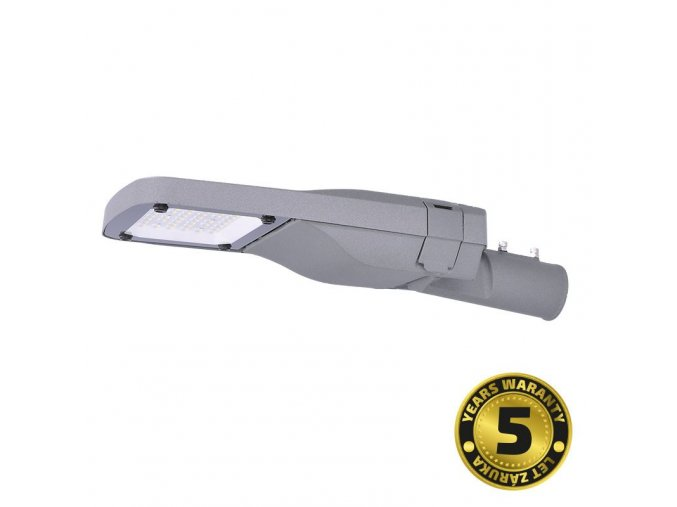 Solight street light SMD, 80W, 12000lm, Meanwell, 4000K, 120°, IP65, 85-265V, šedá