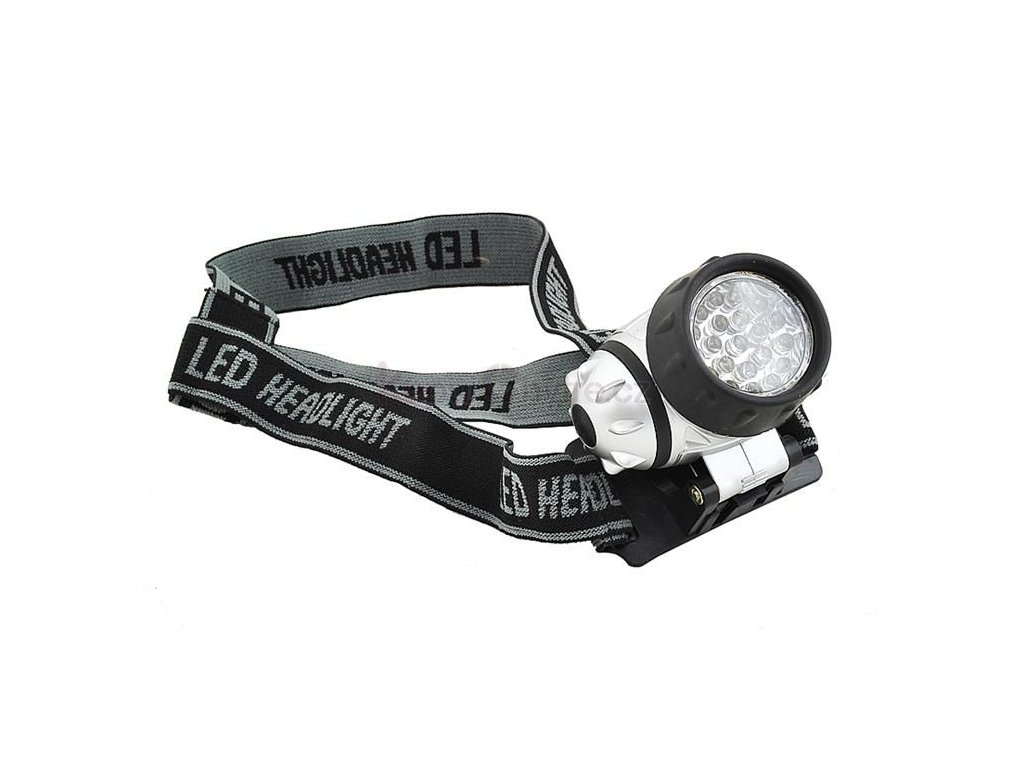 Voděodolna čelovka 21 LED