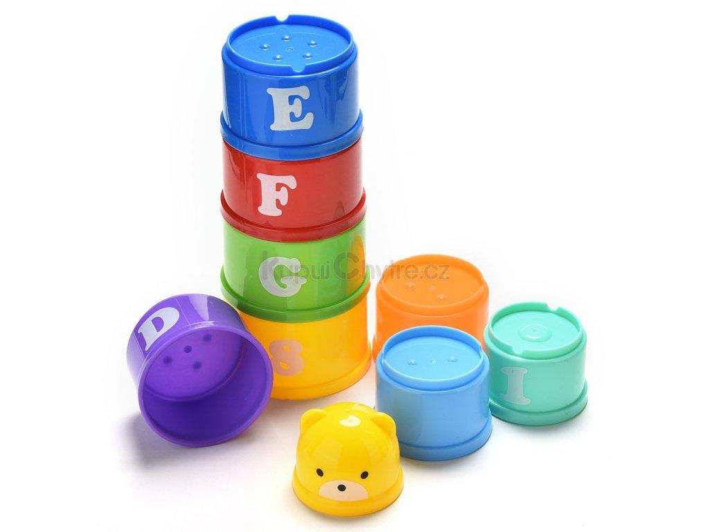 Pyramida pro děti - skládací kostky