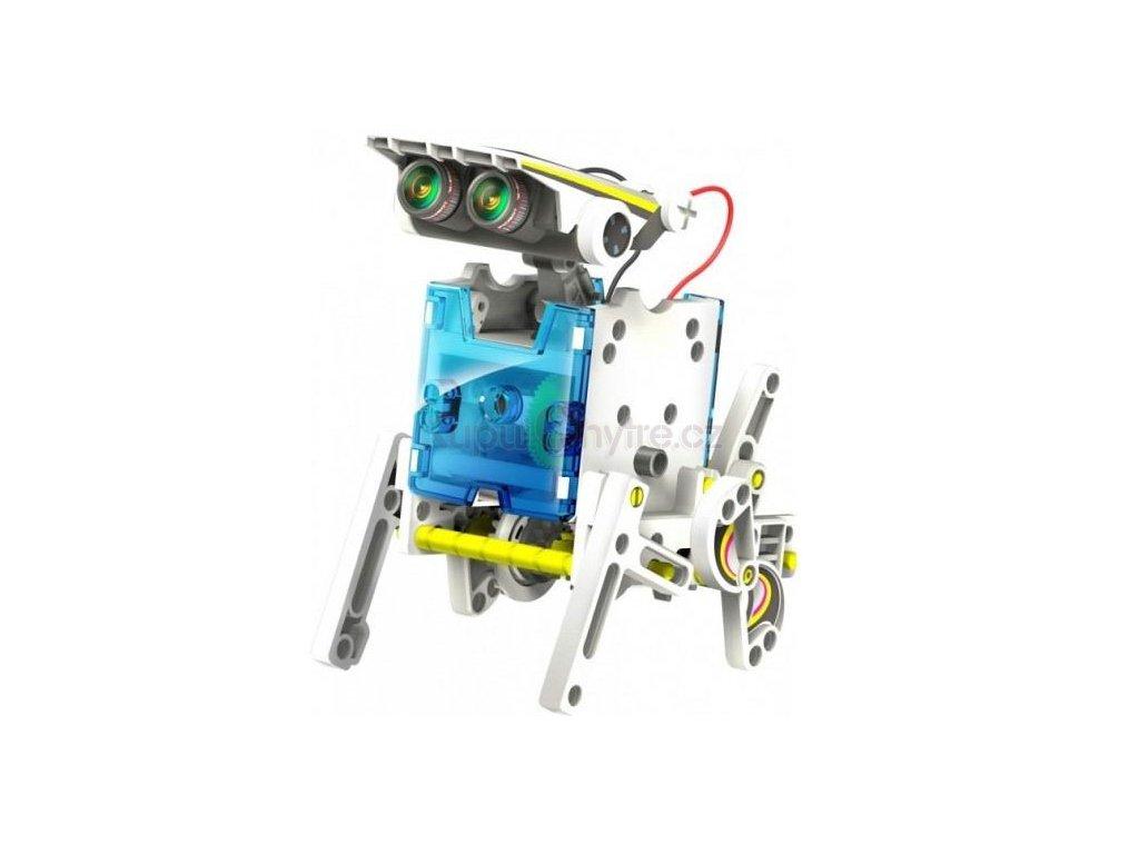 Solární ROBOT - stavebnice SolarBot 13v1