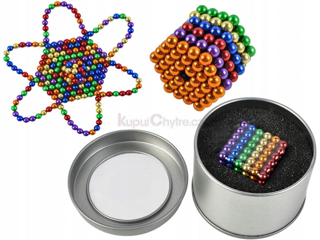 NeoCube - 5 mm (barevné magnetické kuličky)