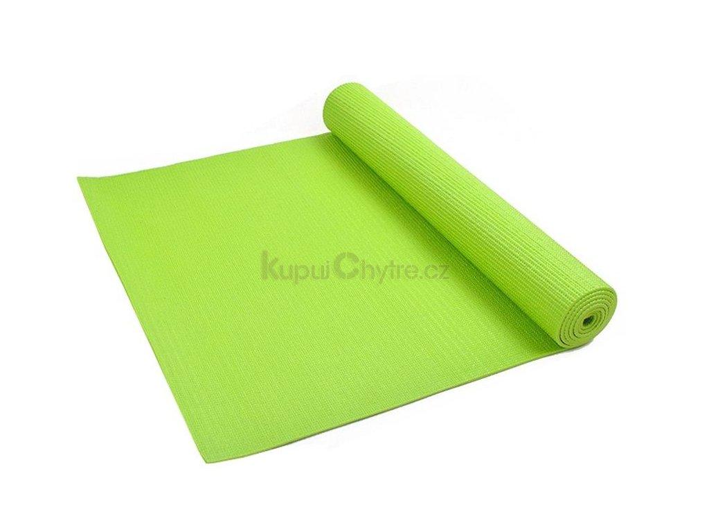 Podložka na jógu (YOGA MAT) - zelená