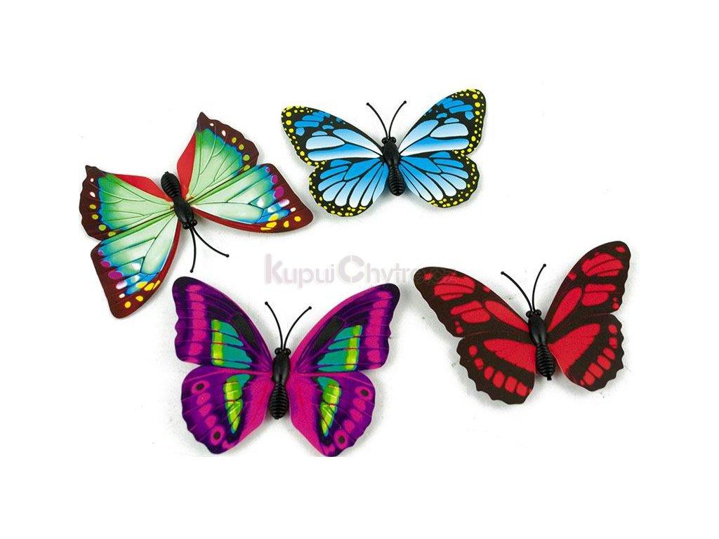 Magnety 3D motýl 1 ks