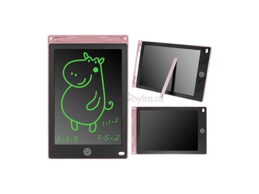 Digitální LCD tabulka 8.5 palce pro kreslení a psaní - růžová