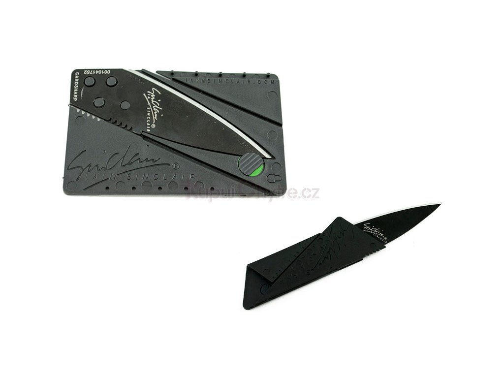 Kapesní nůž velikosti kreditní karty